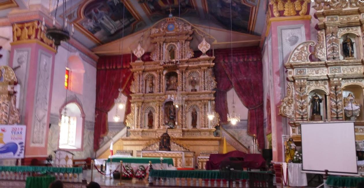ボホール島教会内部