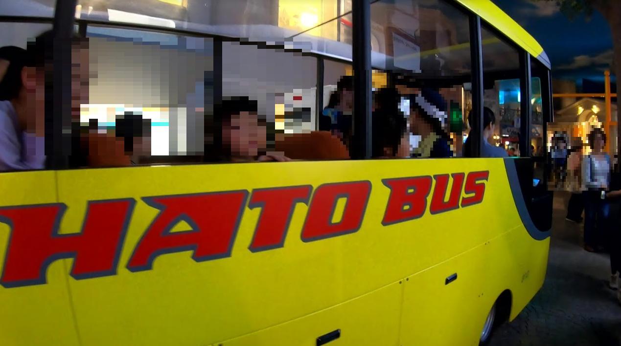 キッザニア東京バスのお客さん